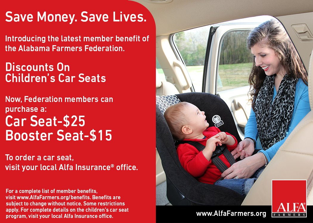 Alfa Farmers On Twitter Members Can Get Car Seats Discounts At Local Alfa Insurance Offices See More At Https T Co Mqdbntxnnw Https T Co 2vxlcbp6my