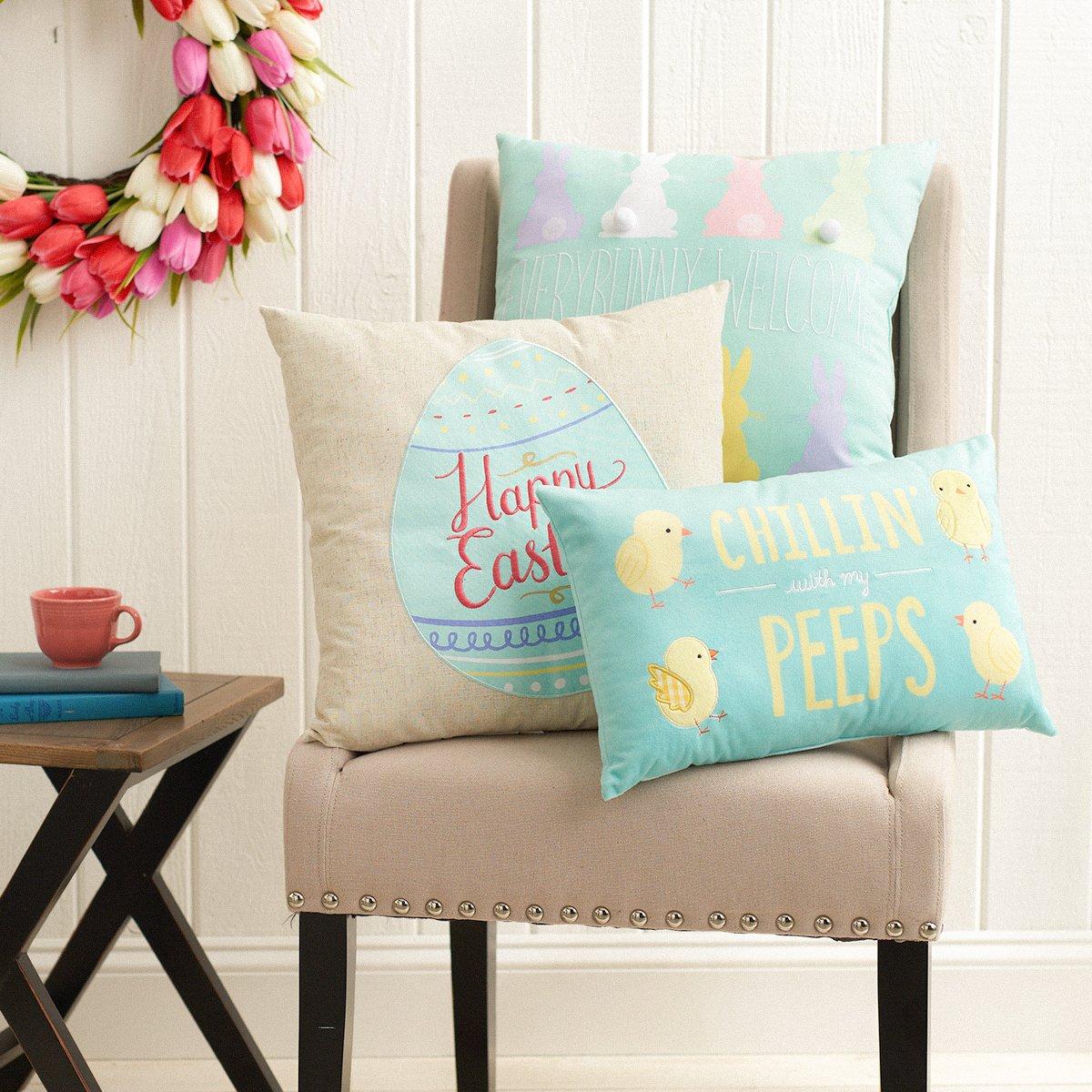 Kohl S On Twitter Pillow Talk Easter Home Decor