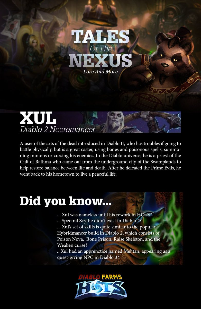 Diablo Farms Hots Diablofarmshots Twitter Xul is one of the strongest melee damage dealers in the meta right now. twitter