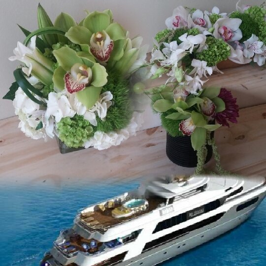 yachtflowers hashtag on Twitter