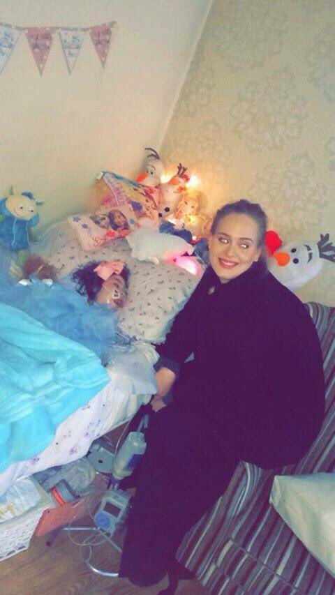 Thank you so much @Adele for visiting the beautiful Rebecca in the Short Strand today. Made her & Tracy's year!!