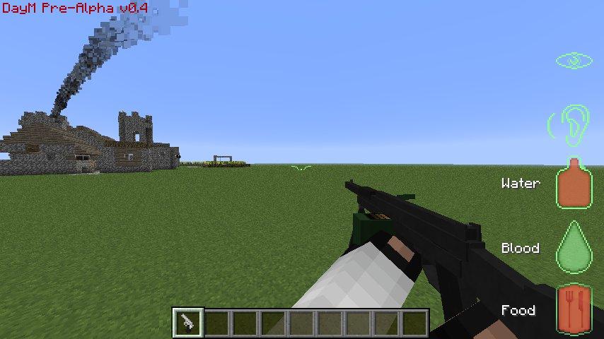 мод на 3d оружие в майнкрафт 1.6.4 #9