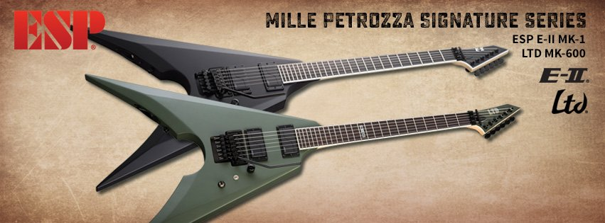 esp guitars on twitter mille petrozza of thrash metal. Black Bedroom Furniture Sets. Home Design Ideas