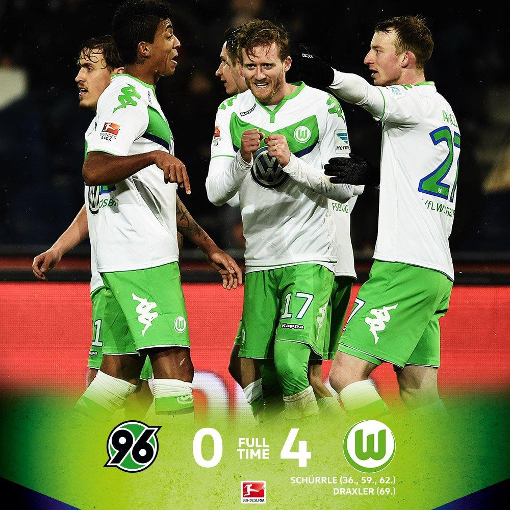 Wolfsburg x Hannover