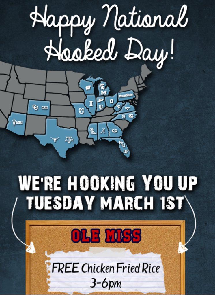 national Hook Up Day 7 étapes de la datation dans l'histoire du lycée
