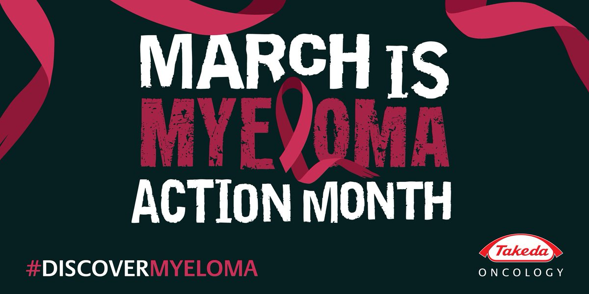 We are proud to spread awareness during  #MyelomaActionMonth. RT to spread awareness & #DiscoverMyeloma https://t.co/fL8T1Cb5Ex