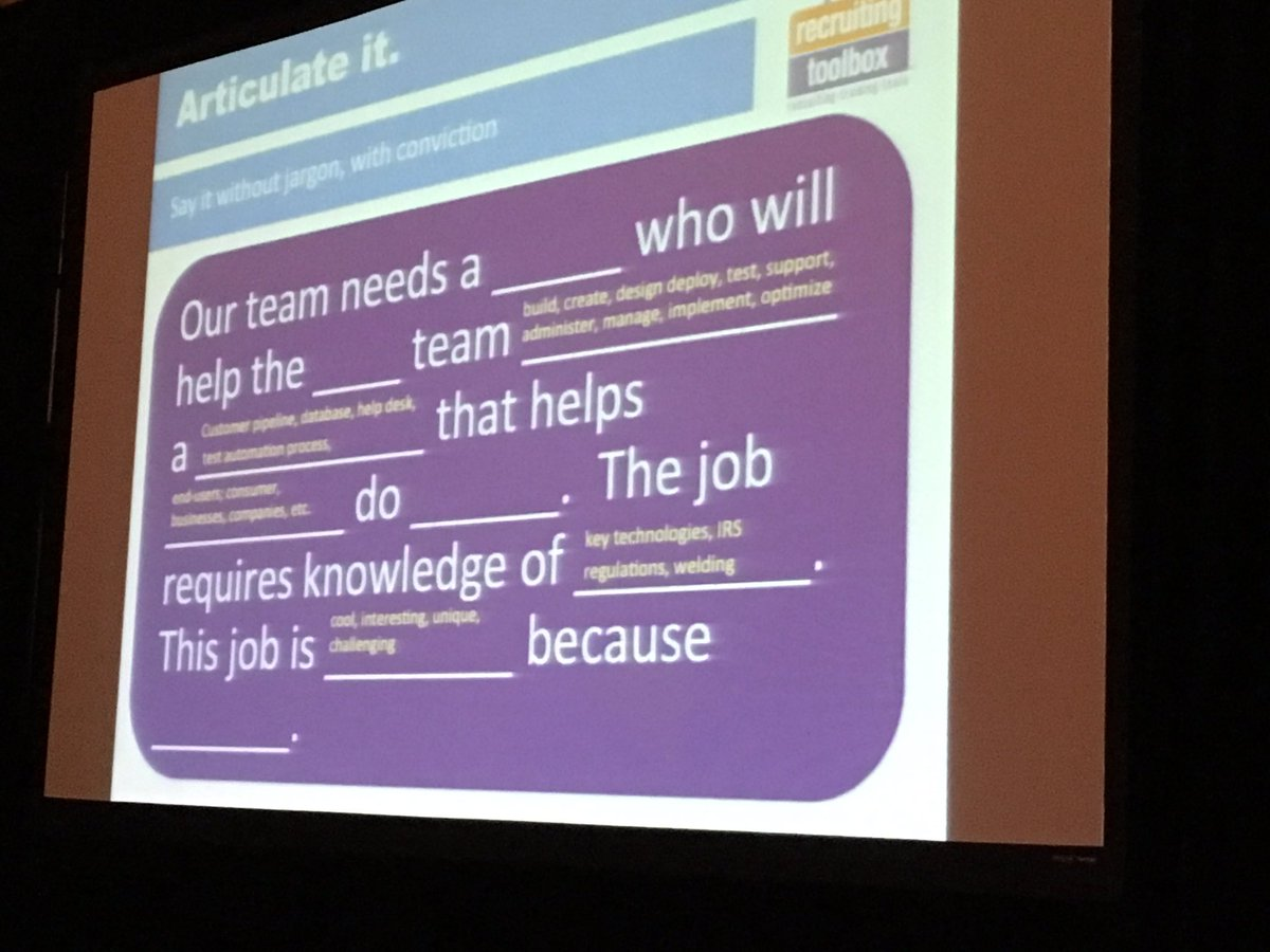 A template for cold calling candidates. #SourceCon https://t.co/HUXoqbKhwX