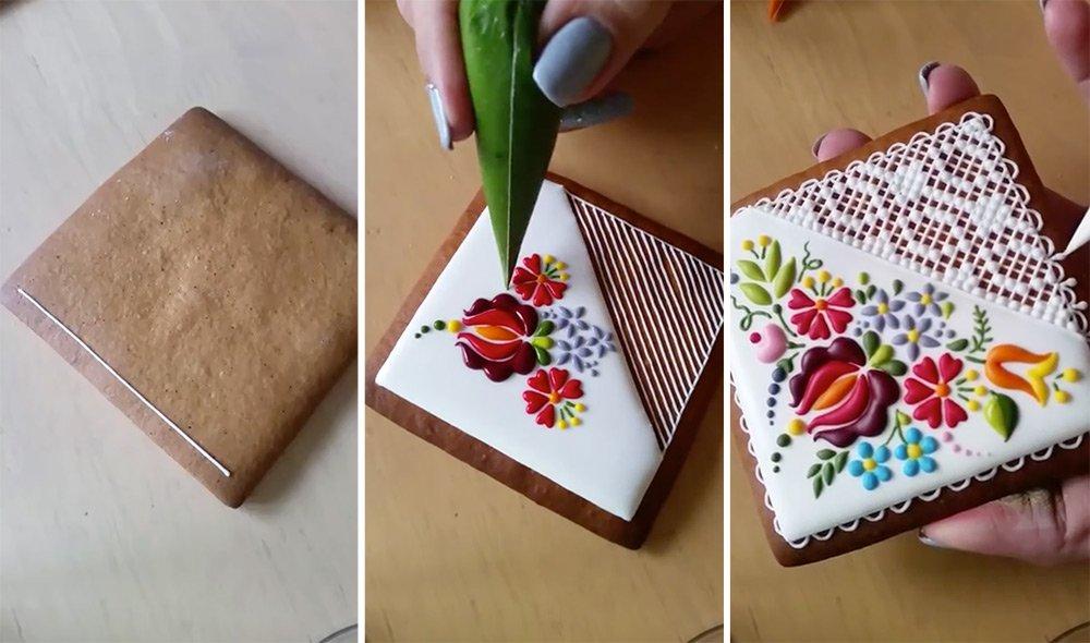 ハンガリーのシェフが作り出す、「まるで刺繍のようなデコレーション・クッキー」thisiscolossal.com/2016/03/mesmer…ここのケーキショップの商品は食べるのがもったいなくなるので有名みたい。 pic.twitter.com/LhNclSK2JY