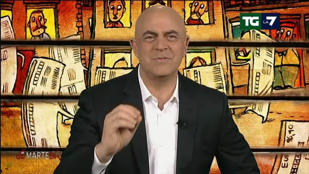 La copertina di Crozza a DiMartedì del 01/03/2016 - Video La7