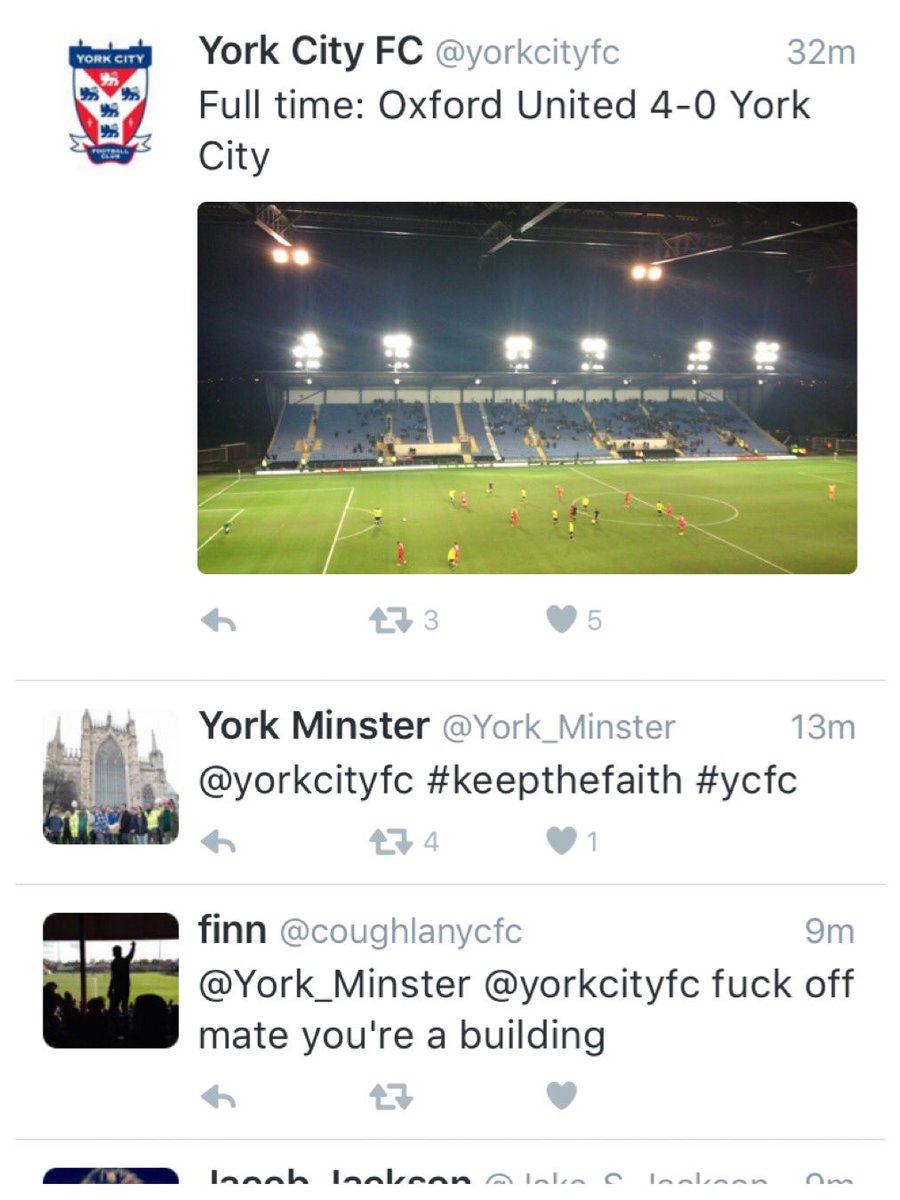 Well, at least this made me a smile on another rubbish night for #ycfc https://t.co/qXttxeoXEm