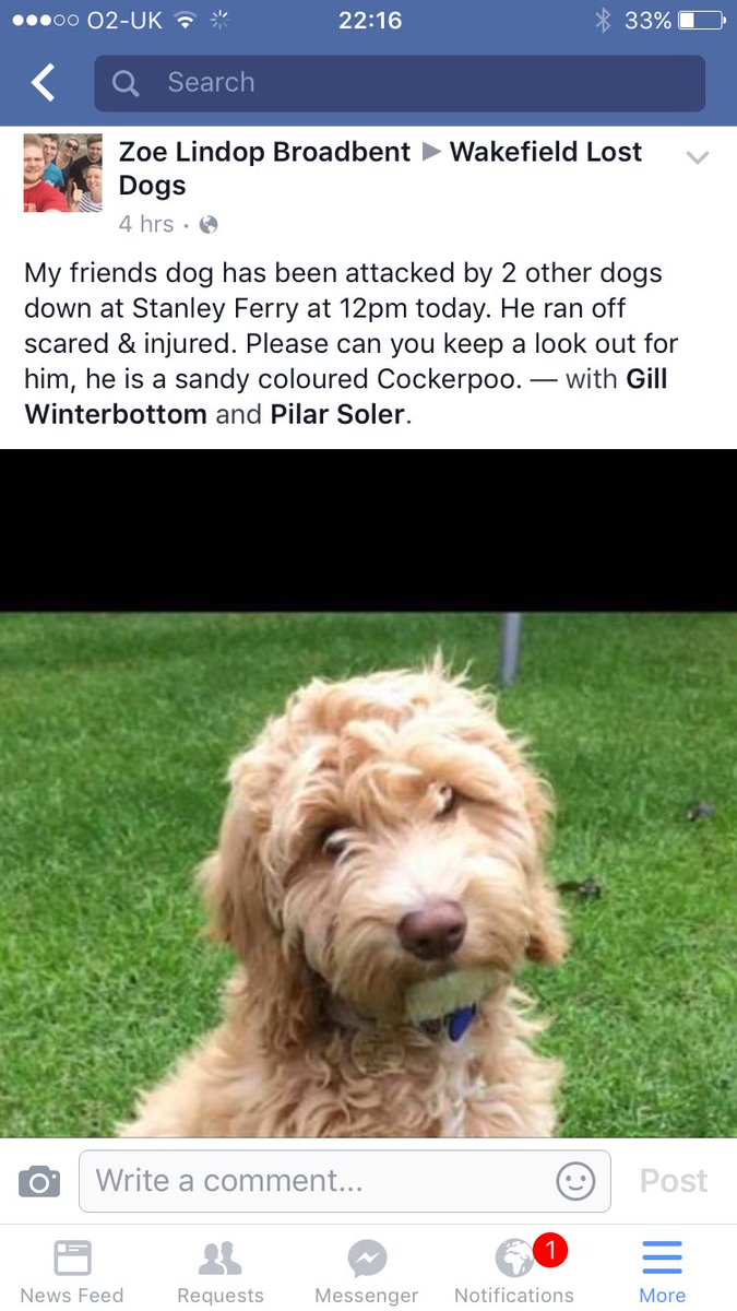 Please retweet in and around Wakefield area... Particularly Stanley Ferry...