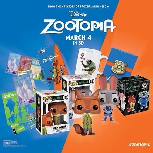 Follow us & #RT for a chance to win a #Zootopia prize pack! Winner chosen 3/10! Tix: https://t.co/oV8boLIvwL. https://t.co/y2HwqXiMLl