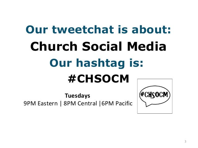 If you can breakaway from #supertuesday join me for #chsocm chat on worship and social media @ 9PM eastern. https://t.co/EiAQuL9dYv