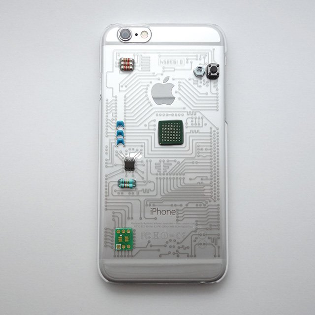 【ONLINE SHOP】新作! りんごマークも回路に取り込んだデザインのケースです。 黒、白、グレーを1点ずつアップしました。 スマートフォンケース for iphone6s https://t.co/Mn6BwuMXYe https://t.co/HuT2aKkVHP