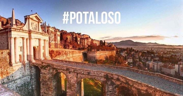 E #Bergamo rispose con #potaloso! Pota, piace?