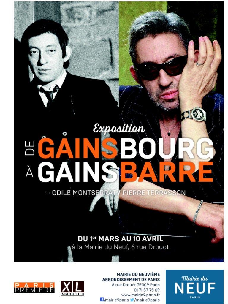 #leParisien_75 #hommage #Gainsbourg a la #Mairie9Paris #expo #Photo #exclusives #Europe1 #25 ans déjà #Gratuitpic.twitter.com/D0LY178Sfe