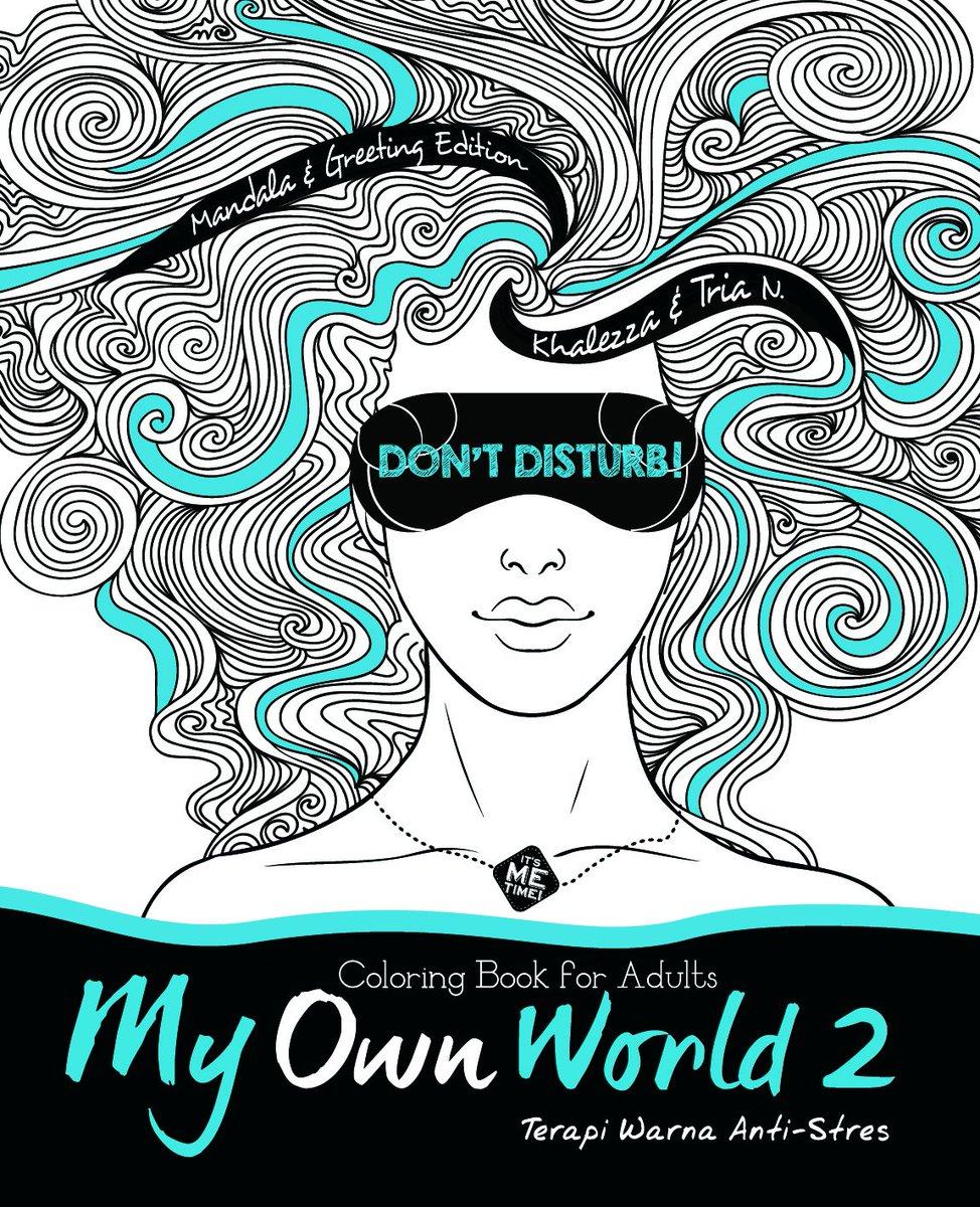 MyOwnWorld2 Coloring Book For Adults Harga 73000 Tersedia Di Seluruh Gramedia Tco SQfojIOygY