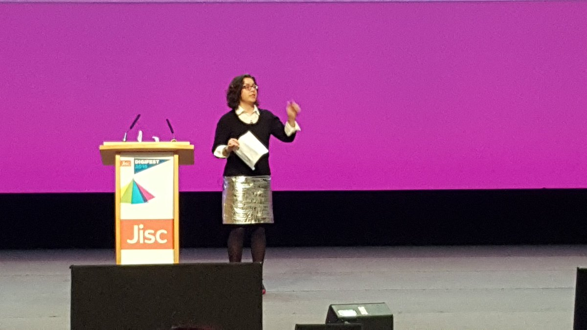 Education leaders need to start thinking of 'digital as a place' says @DonnaLanclos @Jisc #digifest16 https://t.co/JMQAdvLIjF