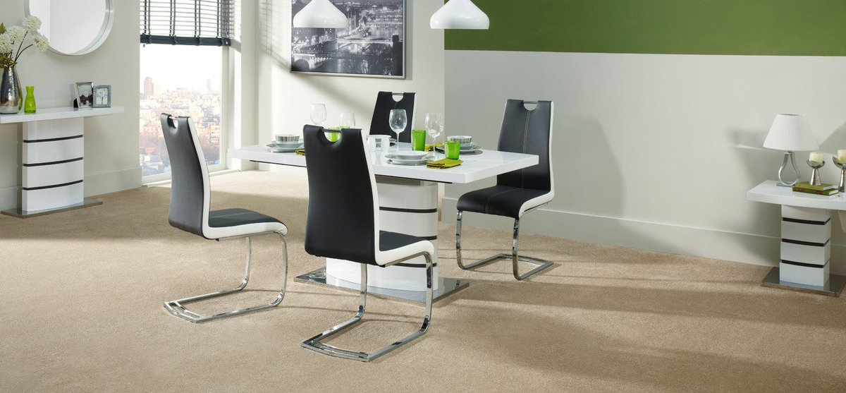 ... Price U2013 Now Only £995! Http://www.scs.co.uk/soho  White Dining Table And 4 Chairs/L024817.html?cgidu003ddining Occasional U2026  #gimme5pic.twitter.com/6BX8aqI8sd