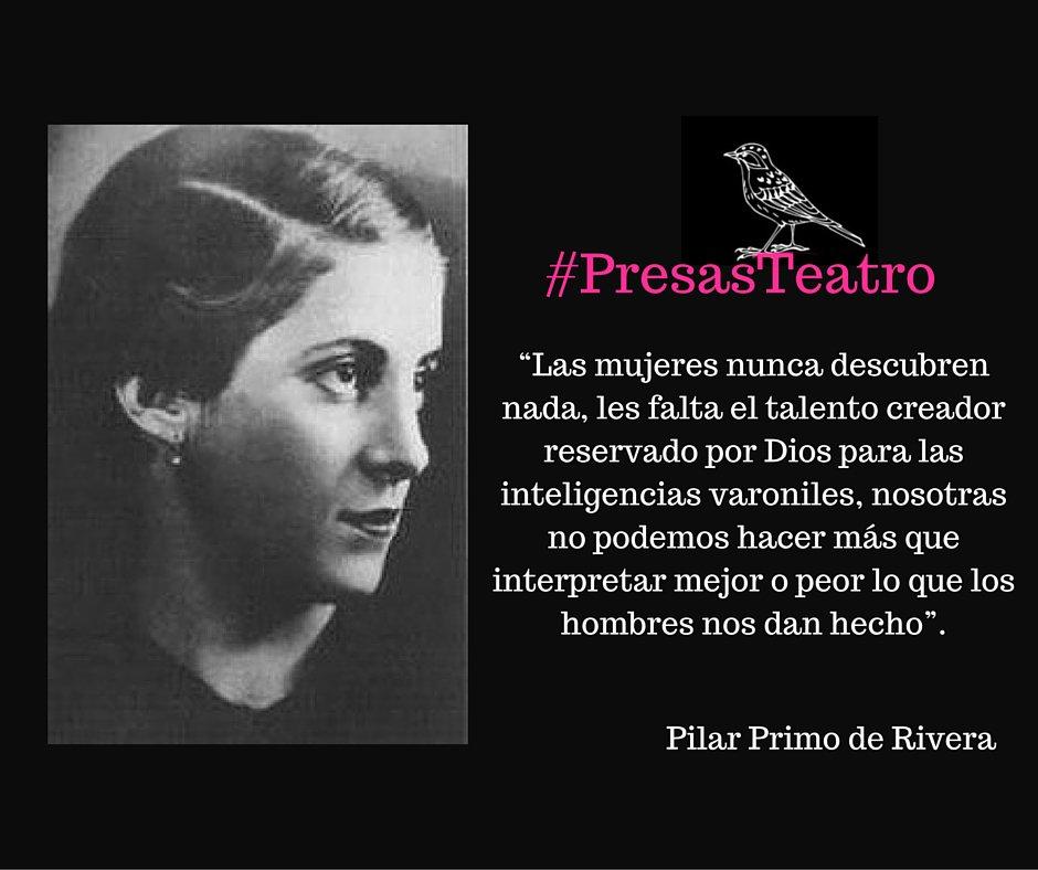 #PresasTeatro por la dignificación de la #mujer https://t.co/Rnd5nA8ync