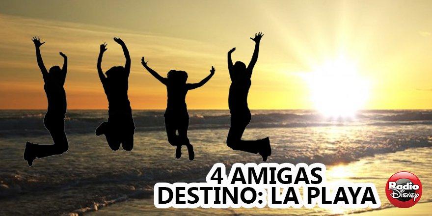 Radio Disney Latino On Twitter Cuatro Amigas Un Sólo Destino