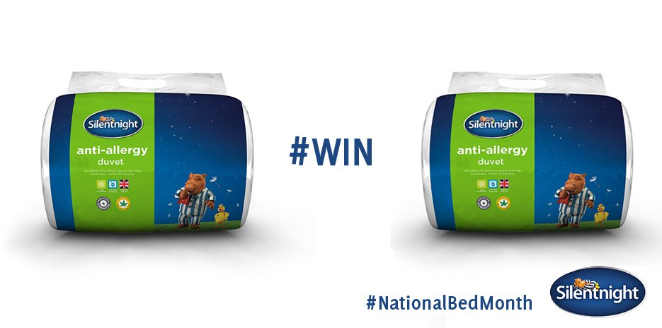 #NationalBedMonth - so we're giving away an anti-allergy bedding bundle! To be in with a chance to #WIN RT & follow! https://t.co/OXp8yfkdmh