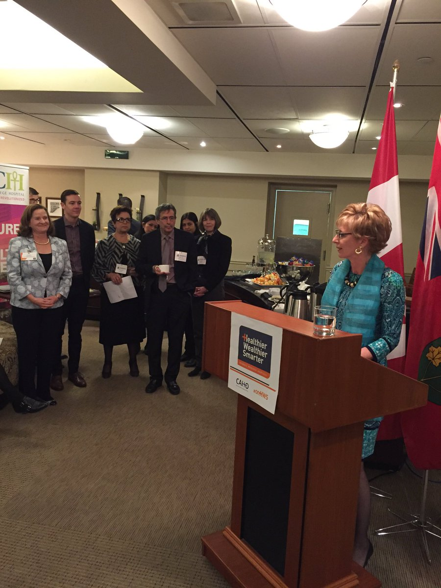 Recognizing the essential developments that @CAHOhospitals provides this morning #onHWS #onpoli https://t.co/Y1Eg9p2eRz