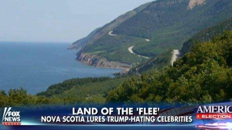 Fox News calls Cape Breton 'Land of the flee' for Trump haters https://t.co/QpBj8KS5bs https://t.co/A7fh1KPKNH