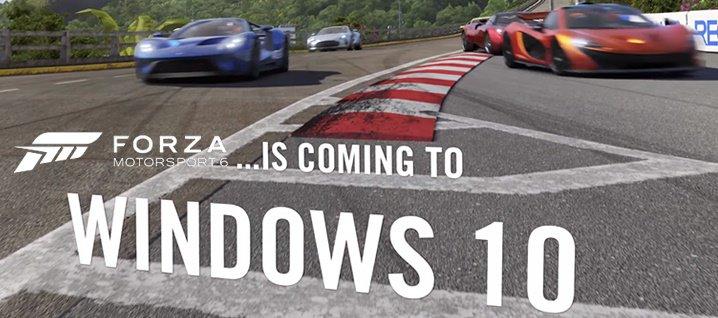 تحميل لعبة Forza Motorsport 6 Apex مجانا للكمبيوتر