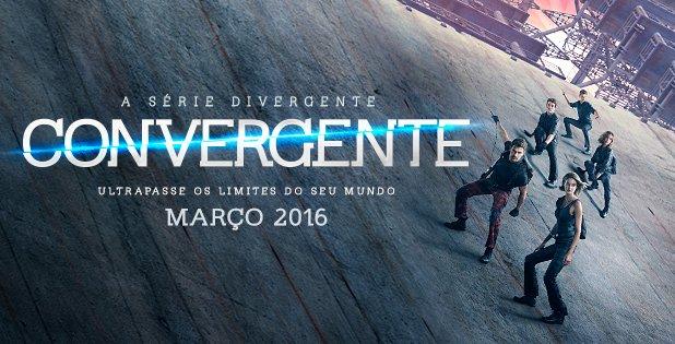 O filme #Convergente estreia nos cinemas dia 10 de março. Você está preparado para ultrapassar seus limites?
