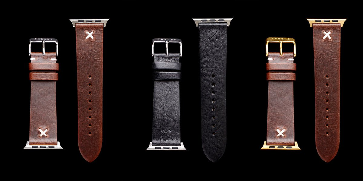 Giveaway: Outfit your Apple Watch with one of Throne's handmade leather bands ($330 value) https://t.co/xbR3hKRXmS https://t.co/vP7az5IpAw