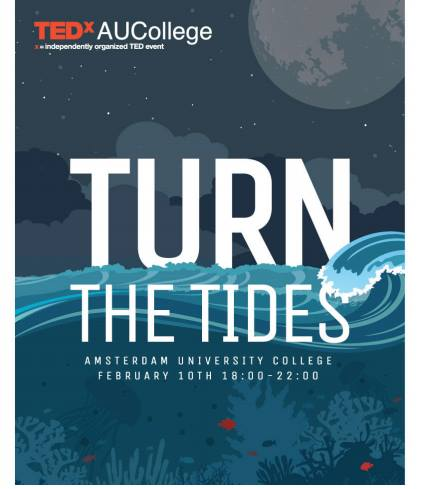 #TEDxAUCollege is live @Bimhuis now 🌊 #TurnTheTides: #ideas that go against the stream http://ow.ly/YQgYD