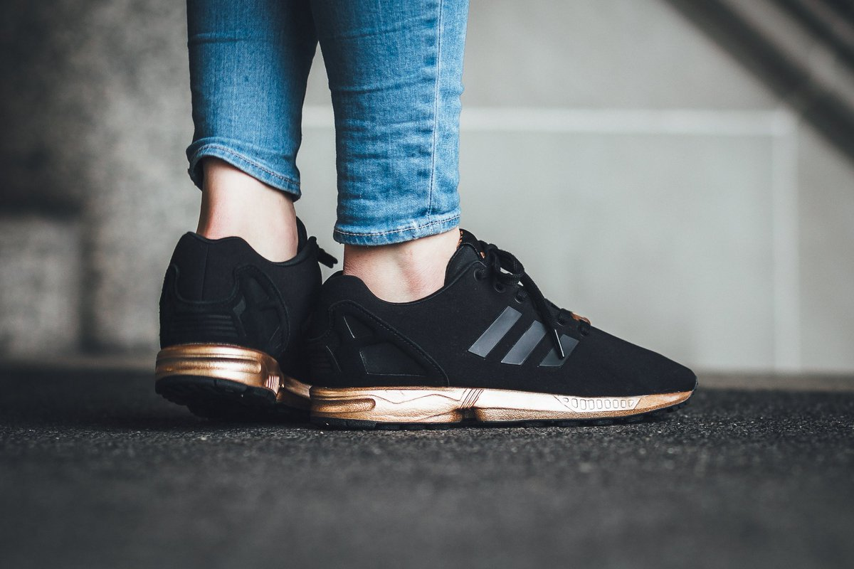 805fea3f4f872 90d9d 2484c  free shipping adidas zx flux w core black core black copper  metallic shop here bcaea 484d4