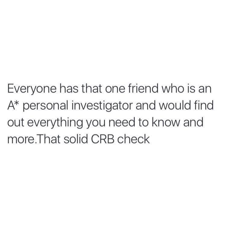 I am this friend