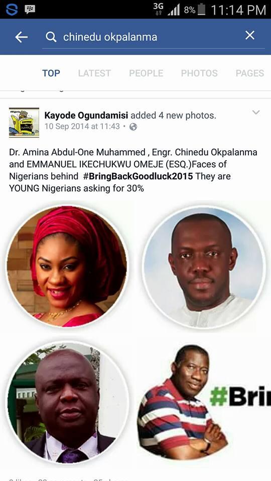 I stand with Buhari fraudster