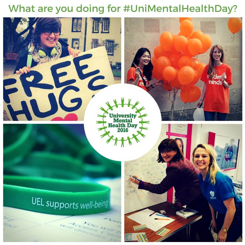 Thumbnail for #StudentChats March '16 - University Mental Health Day 2016