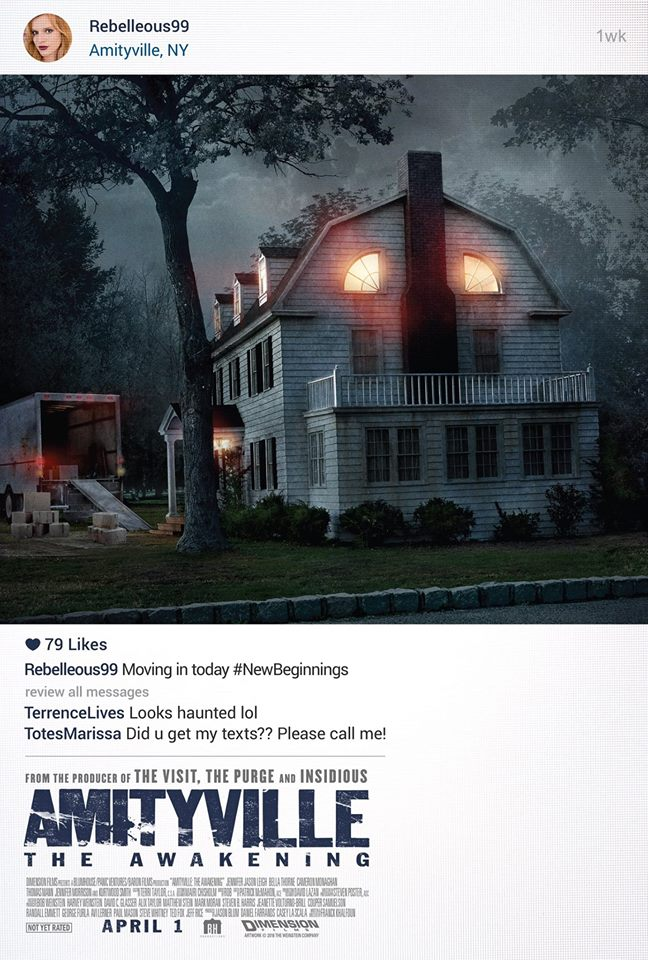 ICYMI, check out #AmityAwakening starring @bellathorne @cameronmonaghan #JenniferJasonLeigh - In Theaters April 1! https://t.co/UNV9ogE7aJ