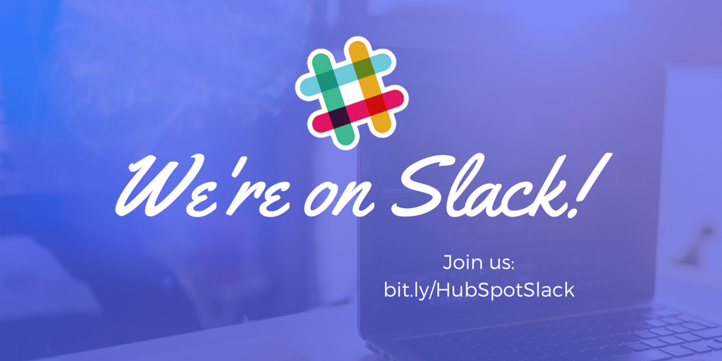 .@HubSpot is taking the Inbound Movement to Slack! Join here: https://t.co/B3hlPXVfgk https://t.co/lfHJ6w4no8