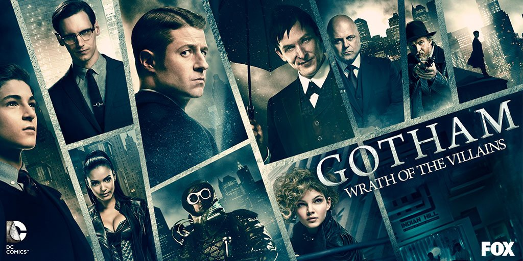 Catch up on @Gotham or face the Wrath of the Villains.  RT & follow to enter for a chance to win a #Gotham swag bag! https://t.co/QXCtkCDk1g