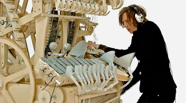 Marble Music Machine: https://t.co/RLe6ga5XHi https://t.co/IMSOsuQDNT