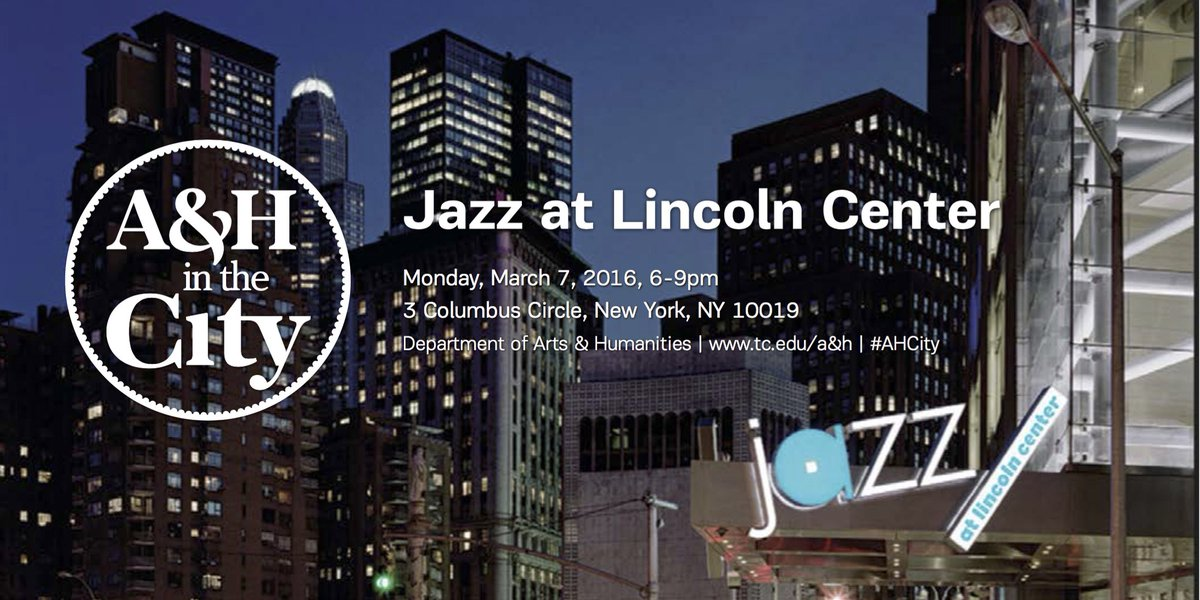 We're so excited for #AHCity to collaborate with @jazzdotorg! Reserve your tix here https://t.co/GCS7HtcE6K! https://t.co/W018u0BQJE