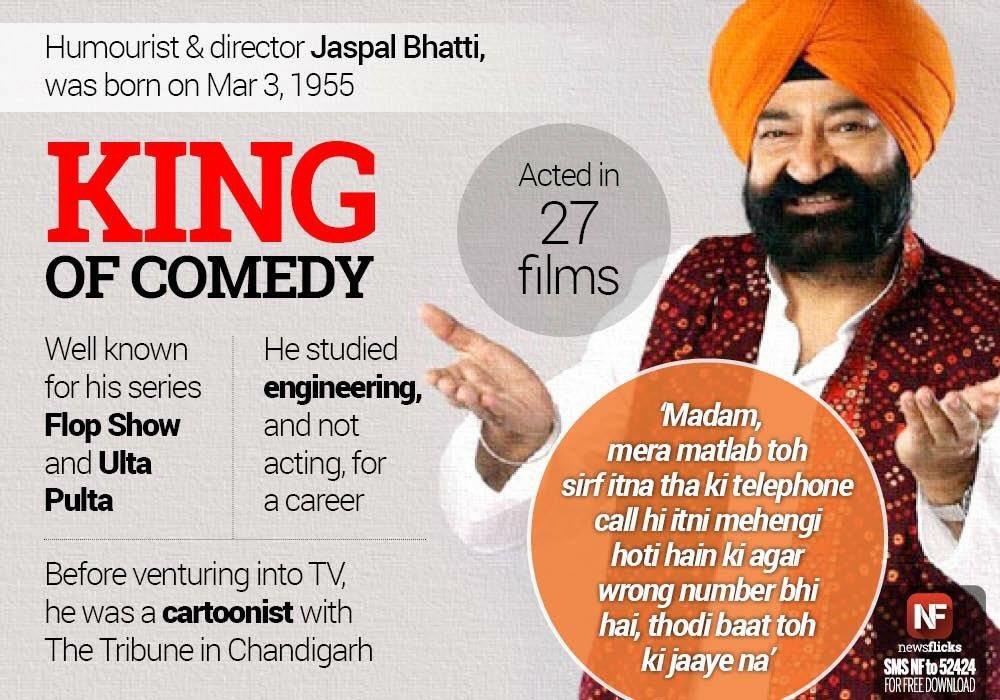 Ulta pulta show of jaspal bhatti film studio.