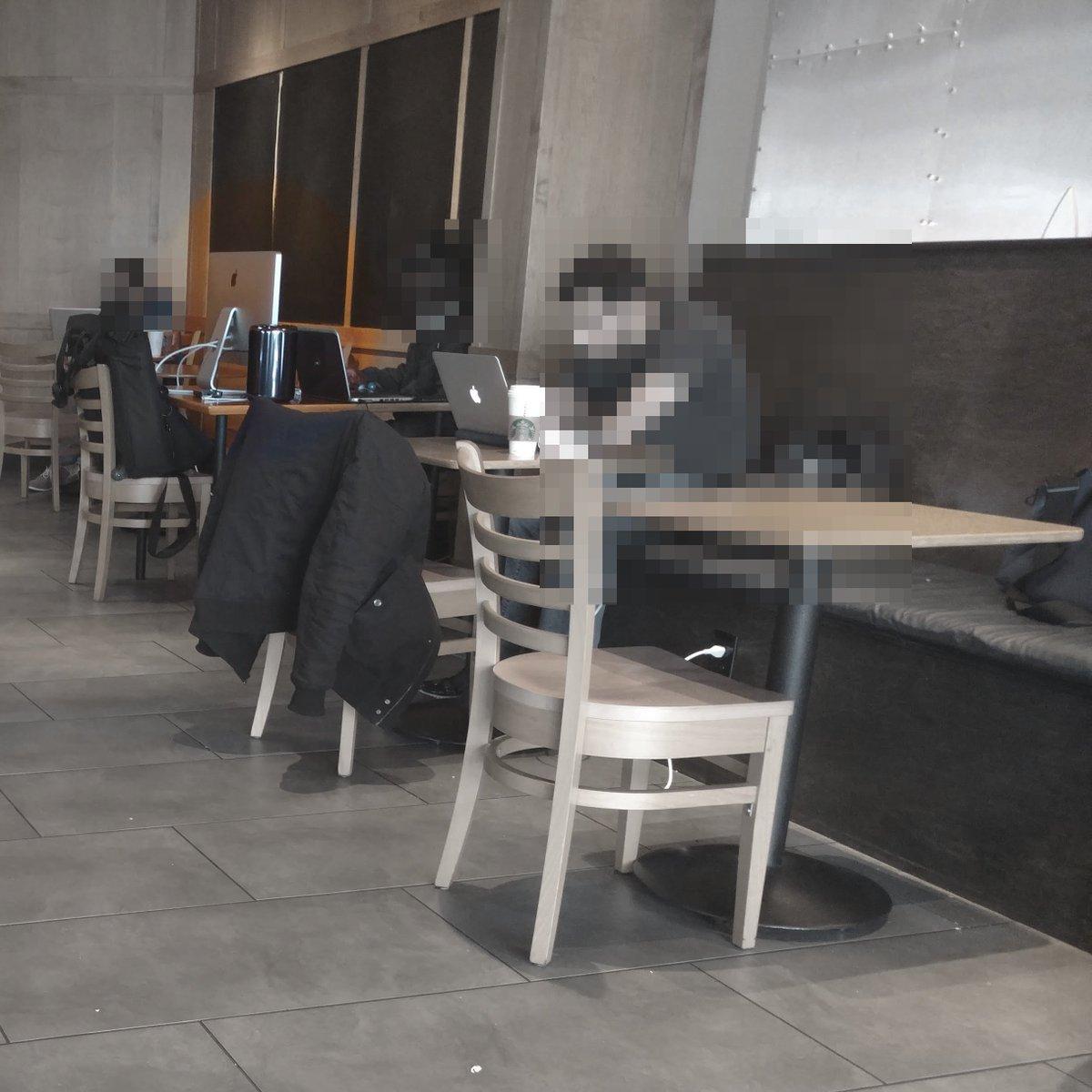 我活了这么大,第一次在 Starbucks 见到有人在用 Mac Pro。 https://t.co/enAxW3mhnv