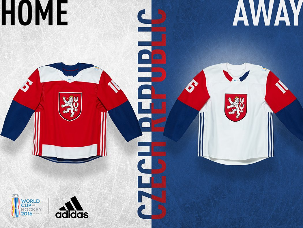 World Cup of Hockey Jerseys Released  a74f8c15b