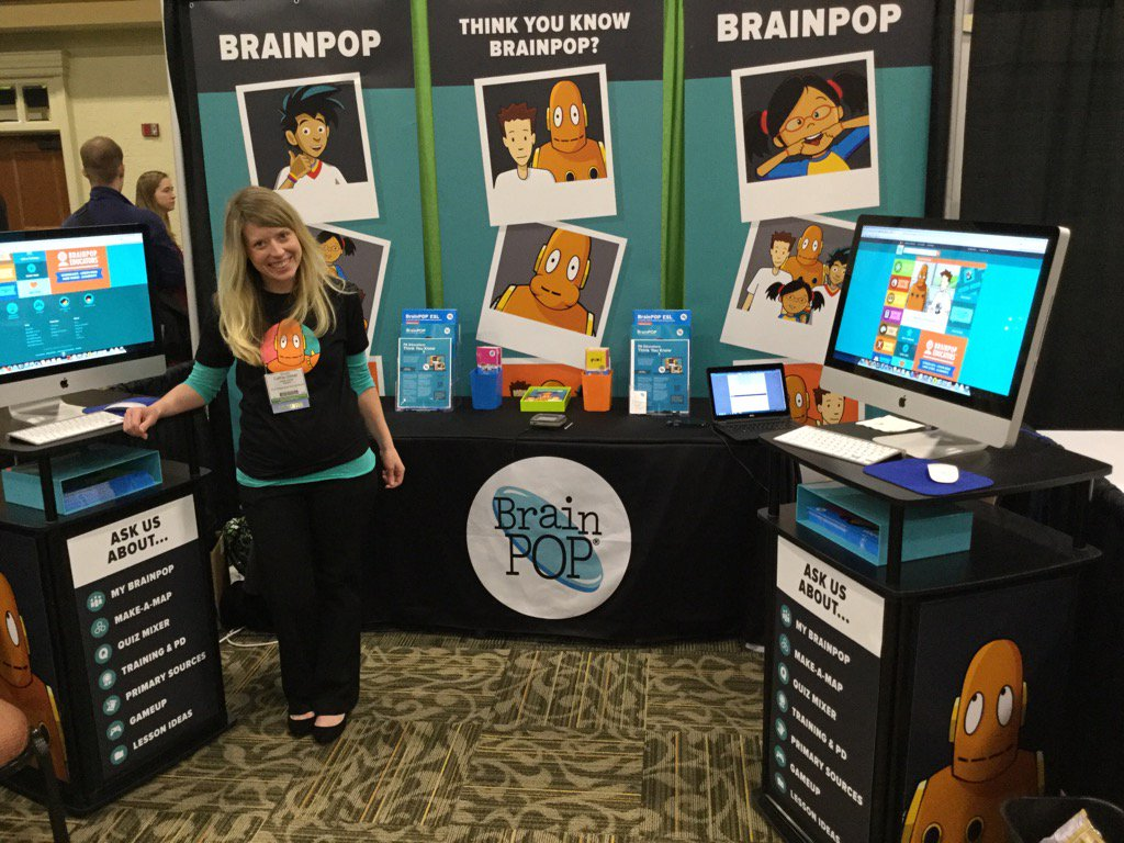 #ktichat @cgillni great job @brainpop booth! https://t.co/YW9WGYk3Ly