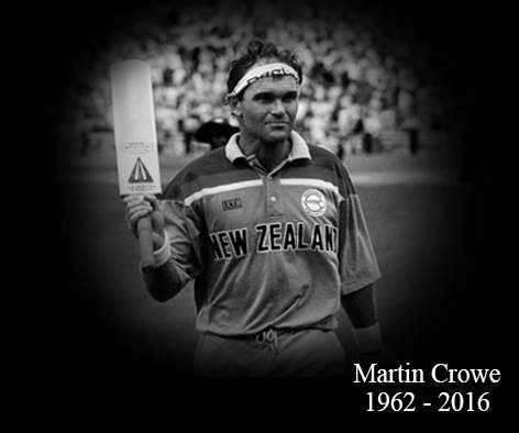 New Zealand Cricket is deeply saddened at the passing of our country's greatest batsman, Martin David Crowe, aged 53 https://t.co/UGk75OFMW5