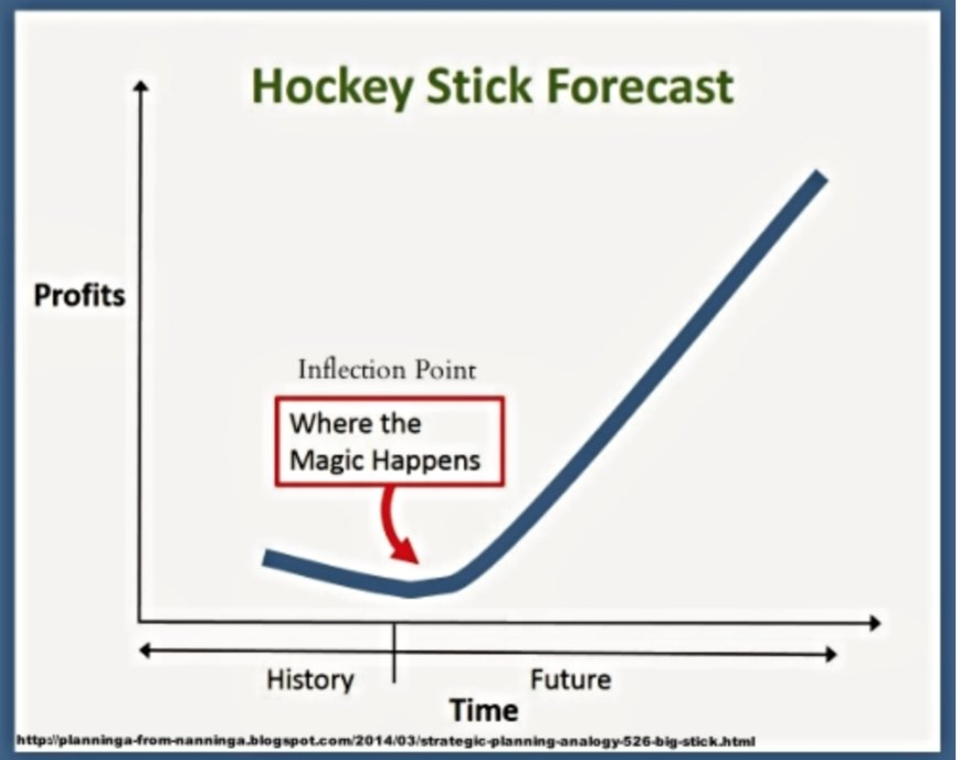 Hockey Stick Forecast For Traders Investors Anirudh Sethi Report