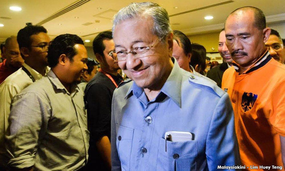 Pertama kali dalam sejarah, Mahathir akan adakan sidang media bersama pembangkang esok. https://t.co/owQc0TfO2H https://t.co/2Uj1WKKplP