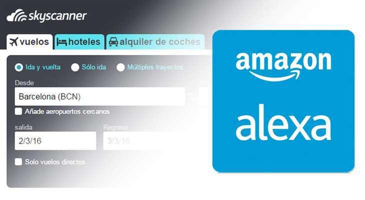 Ricerca Voli Skyscanner con Alexa, il servizio vocale di Amazon