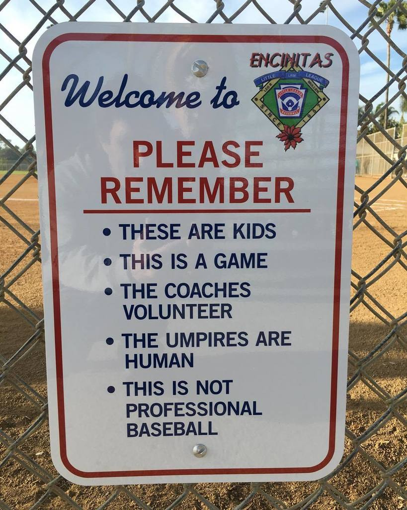 As seen in front of the bleachers at my son's Little Leage game tonight. So good!